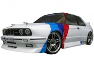 BMW M3 E30 1/10 Nitro RC, rc nitro auto on-road, brandstof rc on-road auto