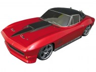 Nitro Corvette Stingray 1967 1/10, rc nitro auto, brandstof on-road auto