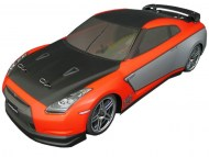 Nissan GT-R 1/10 Nitro auto, rc nitro auto on-road, brandstof rc on-road auto