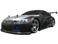 BMW M3 GT2 E92 1/10 Nitro RC grijs, rc nitro auto on-road, brandstof rc on-road auto