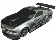 Ford Mustang 1/10 Nitro RC, rc nitro auto on-road, brandstof rc on-road auto