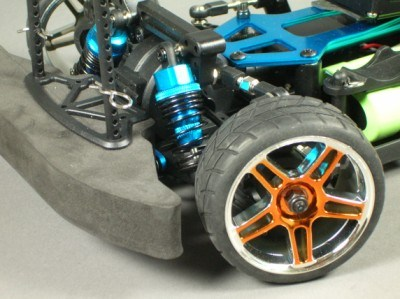radiogafisch on road auto, Kasa Pro brushless.