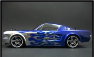 Body XK24 Ford Mustang 1966, 200mm, rc nitro auto body
