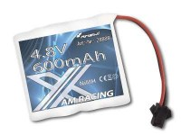 4.8V 600mah accu Ni-mh AM X Racing