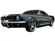 Ford Mustang 1966 1/10 Nitro, rc nitro auto, brandstof on-road auto