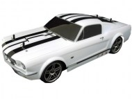 Ford Mustang Shelby 1/10 Nitro, rc nitro auto, brandstof on-road auto
