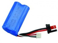 7,4V 700 Mah Li-Ion accu | Blue Barracuda Mini Boot