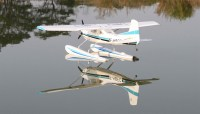 Cessna 182 watervliegtuig 1500mm brushless PNP
