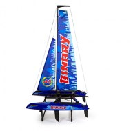 Jowsway Binary catamaran, rc zeilboot, radiografische zeilboot