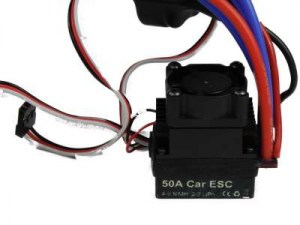 Brushless regelaar ESC 50A  | rc auto upgrades | onderdelen rc auto