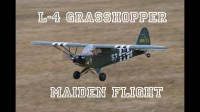 Piper J3 1400mm brushless PNP Legergroen