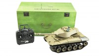 RC Tank Walker Bulldog M41 Smoke & Sound 116 2-4 GHz - twr-trading.nl 01