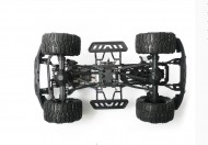 chassis overzicht Surpass Apace Gallop 4WD Crawler 1/10