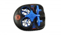 Trix - 3-IN-1 drone, hovercraft blauw of rood