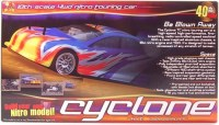 Bouwpakket radiografische auto, onroad  r/c Cyclone