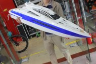 Motor Yacht Princess Brushless 70 km/u | rc boot | bestuurbare boot | rc boten