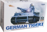 Tiger Combat Tank Smoke & Sound