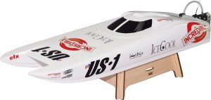 Radiografische US-1 Brushless catamaran, 2,4 GHz
