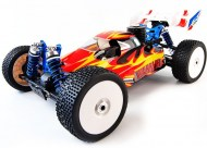 Rc Nitro buggy ACME Warrior schaal 1/8