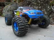 RC monster truck Mad Truck | rc auto | bestuurbare auto